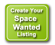 Create Your Space Wanted Listing